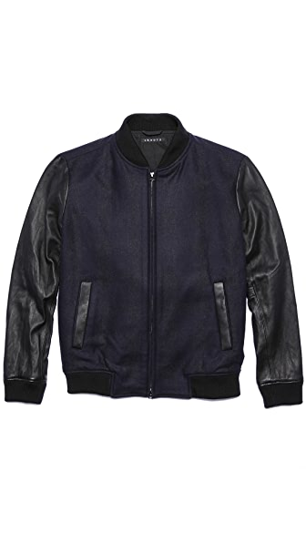 Theory Volter C Kinlough Varsity Jacket
