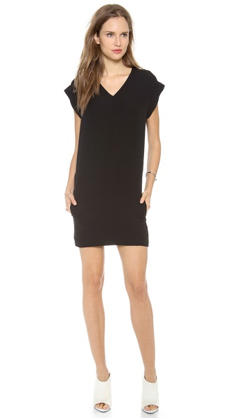 Theory Double Georgette Gydana Dress