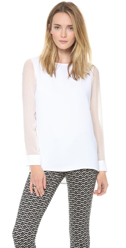 Theory Changement Toska C Blouse at Shopbop / East Dane