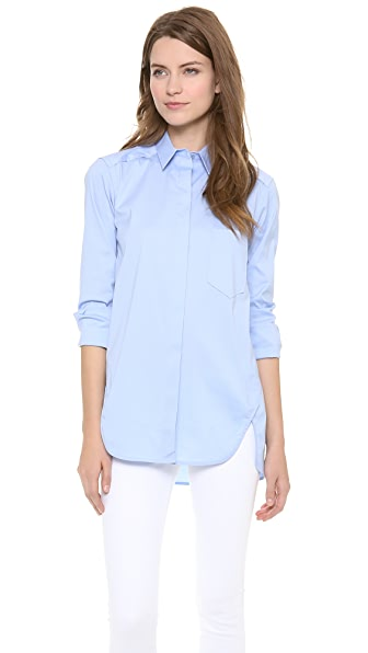 Theory Luxe Fedele Blouse