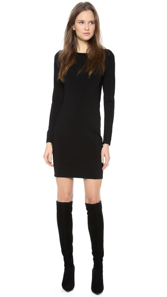 Theory Leftbank Lasina Long Sleeve Dress