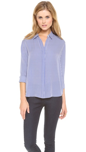 Theory Conventional Aquilina B Blouse