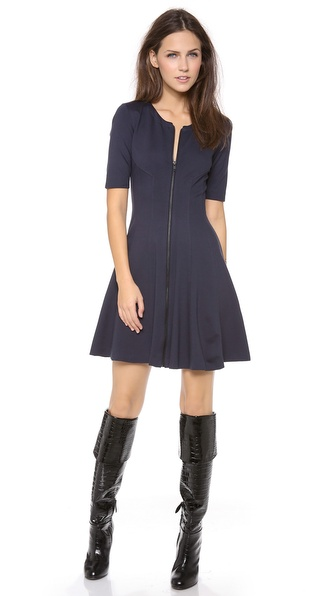 Theory Bonbi Short Sleeve Dress