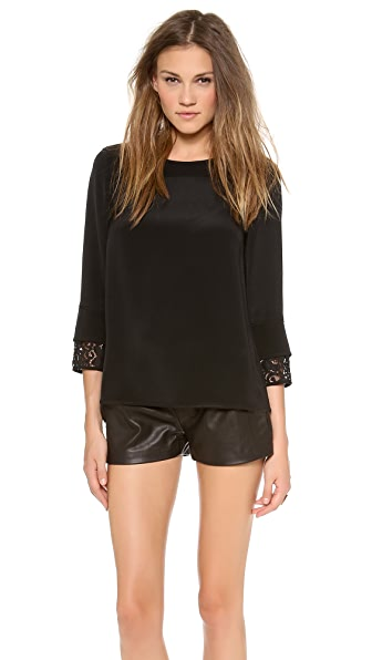 Theory Veneza Galine Blouse