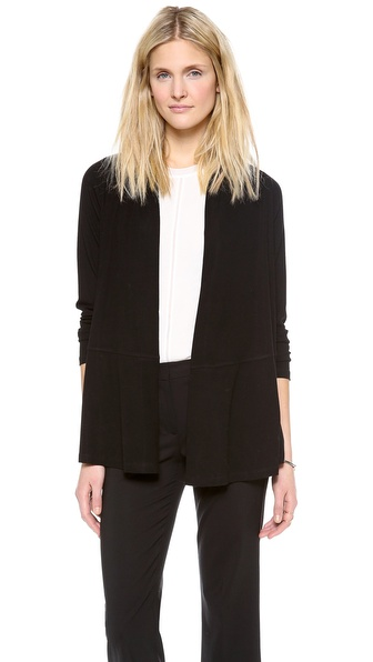 Theory Ribbed Viscose Kalalyn K Cardigan