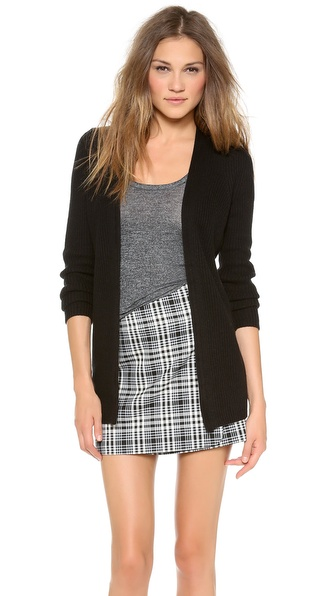 Theory Sea Cottoncash Raldra Cardigan