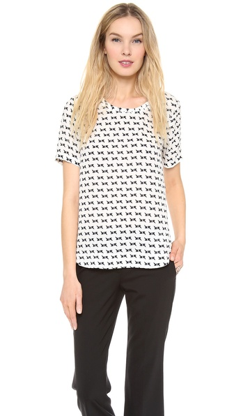 Theory Arrows Katsley Blouse