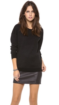 Theory Tollie P Evian Stretch Wool Sweater