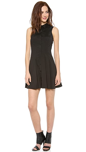 Theory Geniada Luxe Shirt Dress