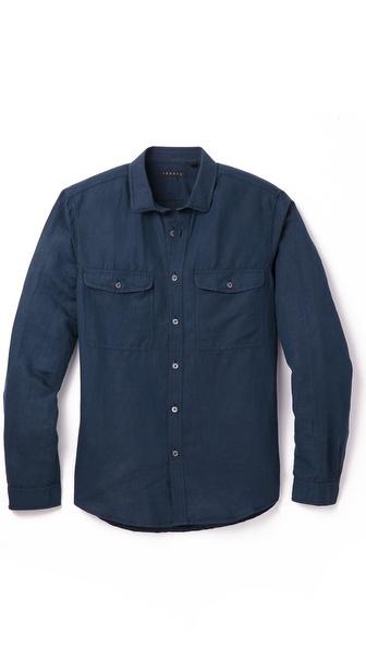Theory Jugen Linen Shirt