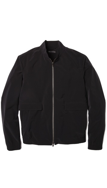 Theory Traverse Zip Bomber Jacket