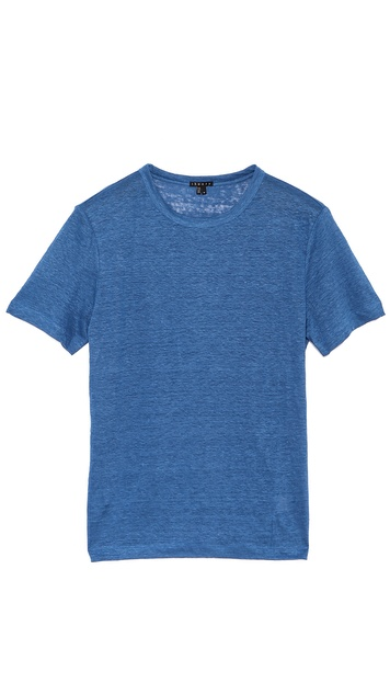 Theory Andrion Linen T-Shirt