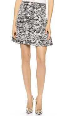 Theory Tweedscape Doreene C Skirt