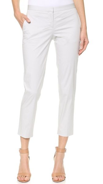 Theory Summer Twill Cropped Pants