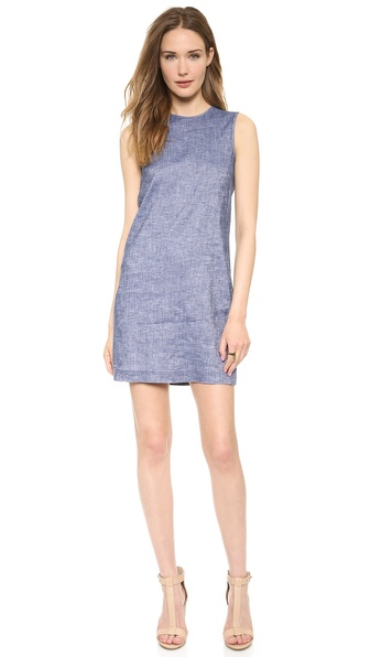 Theory Tierra Adraya Dress - Denim