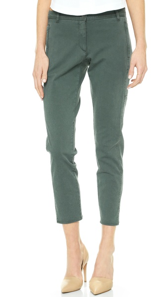 Theory Farment Wash Chipri Pants - Washed Pine at Shopbop / East Dane