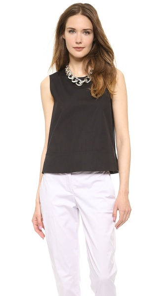 Theory Palatial Dayne Top - Black at Shopbop / East Dane