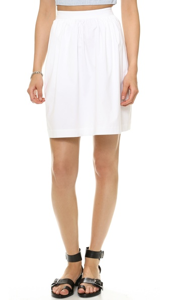 Theory Palatial Gelda Skirt - White at Shopbop / East Dane