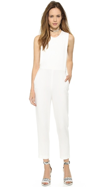 Theory Spiaggia Remaline Jumpsuit - White at Shopbop / East Dane