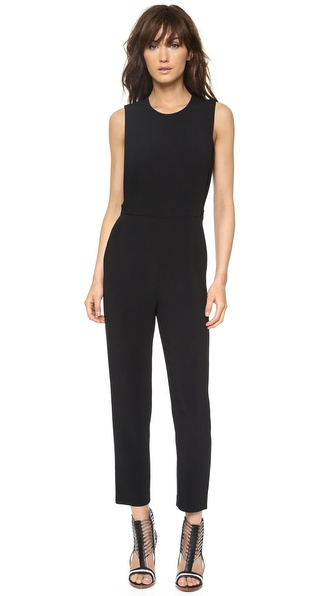 Theory Spiaggia Remaline Jumpsuit - Black at Shopbop / East Dane