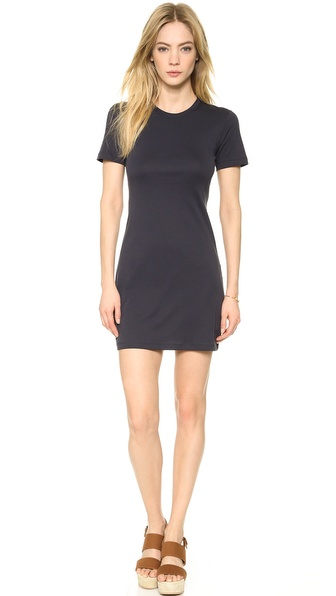 Theory Classic Tee Cherry Dress - Navy at Shopbop / East Dane