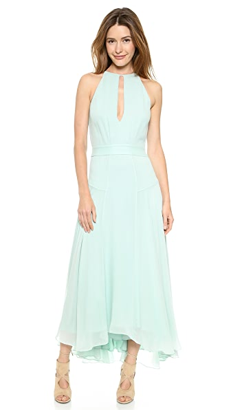 Theory Juliette Double Georgette Gown