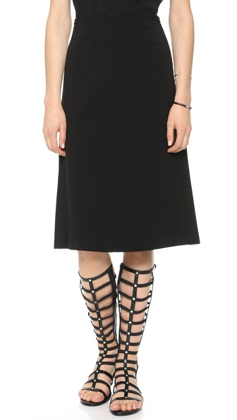 Theory Icon Midi Skirt