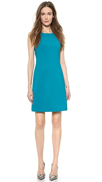 Shop Theory online and buy Theory Faded Jemania Dress - Cyan dress online
