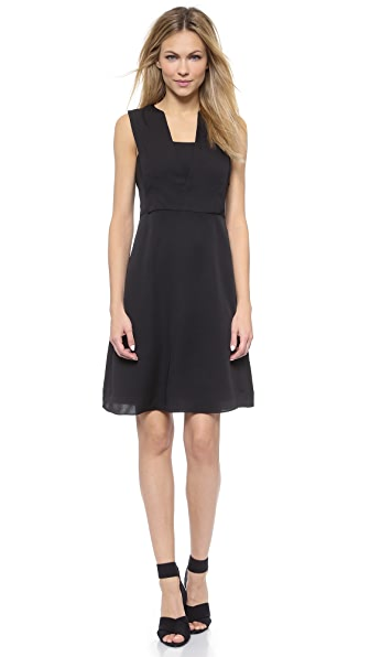 Kupi Theory haljinu online i raspordaja za kupiti Theory Modern Silk Garner Dress Black online