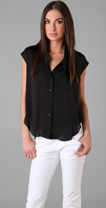 Theyskens' Theory Blogo Blouse