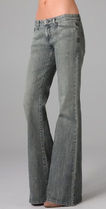 Theyskens' Theory Peps Wide Leg Jeans