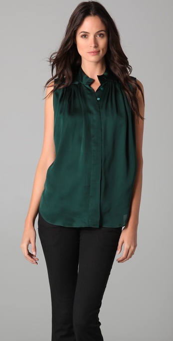 Theyskens' Theory Brilo Fiona Blouse