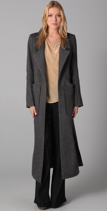 Theyskens' Theory Mogal Friti Coat
