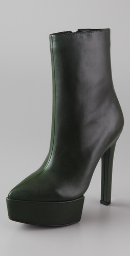 Theyskens' Theory Ayla Platform Booties