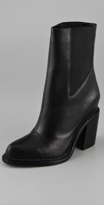 Theyskens' Theory Taylor High Heel Booties