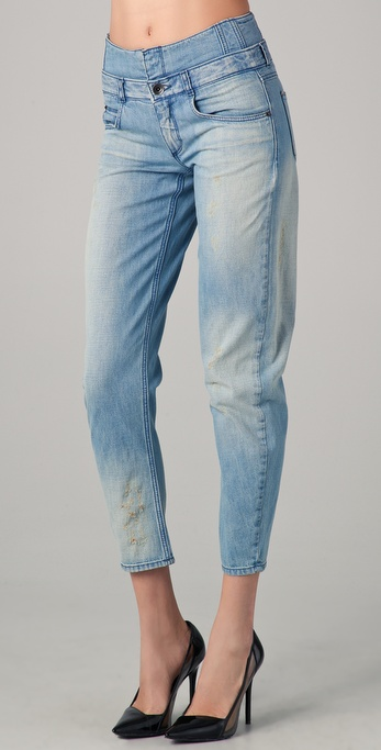 Theyskens' Theory Pardner Western Destroyed Pants