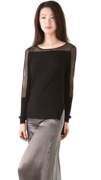 Theyskens' Theory Karyl Yaif Top