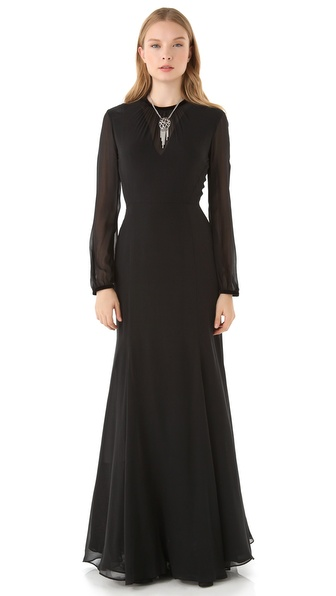 Theyskens' Theory Dacky Felta Dress