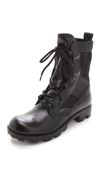 Theyskens' Theory Yvanka Combat Boots
