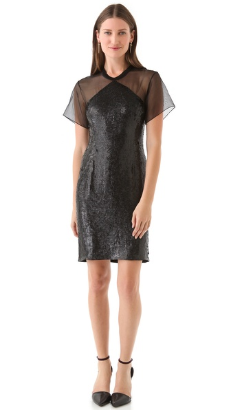 Theyskens' Theory Derell Flizzard Dress