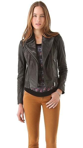 Theyskens' Theory Javda Norinto Leather Jacket