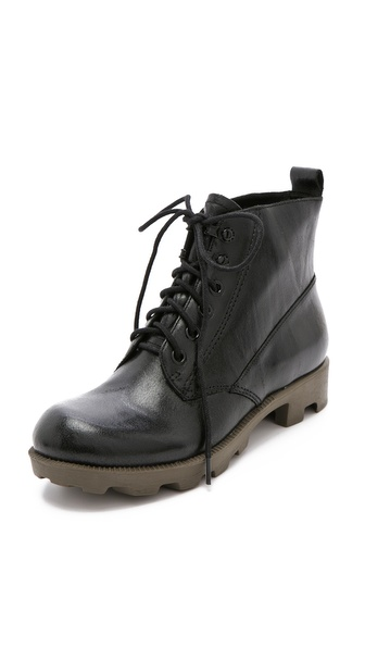 Theyskens' Theory Yasmin Lace Up Booties