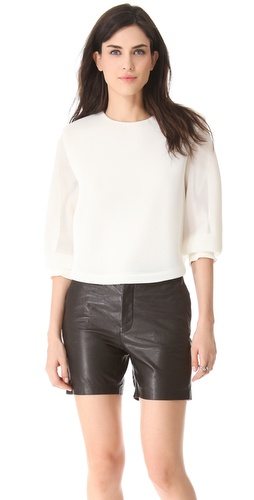 Theyskens Theory Belcor Fliners Blouse