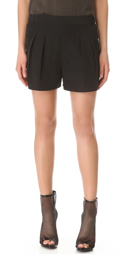 Theyskens Theory Panther Flacky Shorts