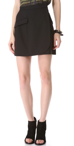 Theyskens Theory Sakee Skirt