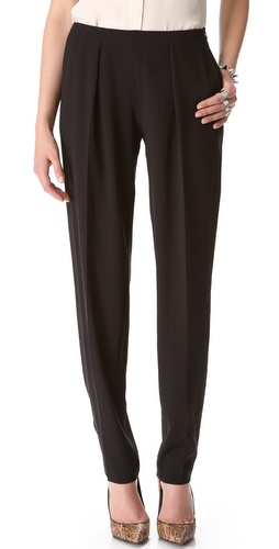 Theyskens Theory Pervon Pleated Pants