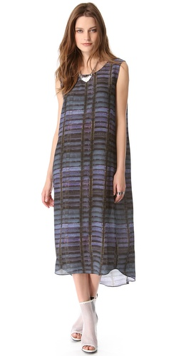 Theyskens Theory Dritto Sleeveless Dress
