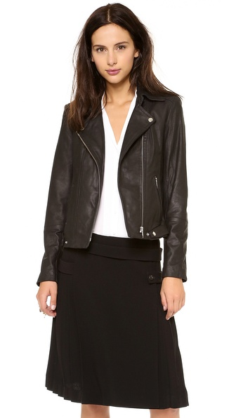 Theyskens' Theory Jerfect Leather Jacket