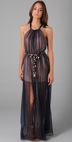 Thread Social Halter Evening Dress