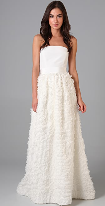 Thread Clara Strapless Dress with Removable Skirt